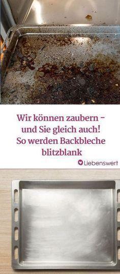 Backblech putzen