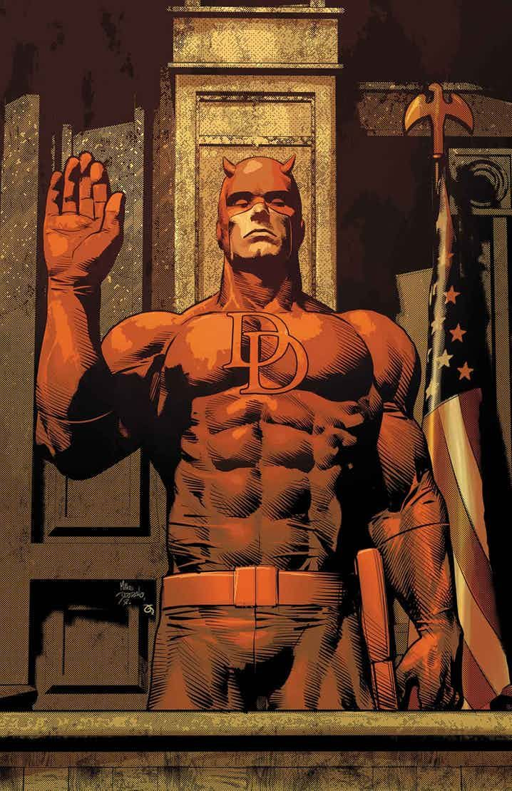 Matt Murdock DAREDEVIL by Mike Deodato Jr