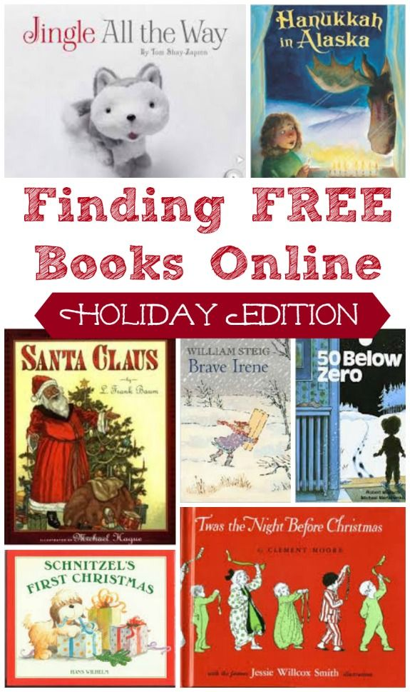 25 Free Online Read Aloud Books For Christmas Holidays All