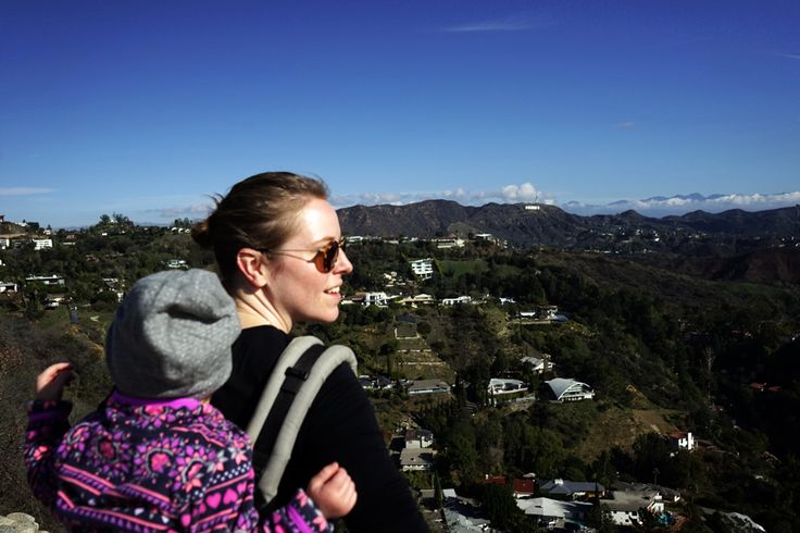 Travel Los Angeles with a toddler... Runyon Canyon mit Kleinkind