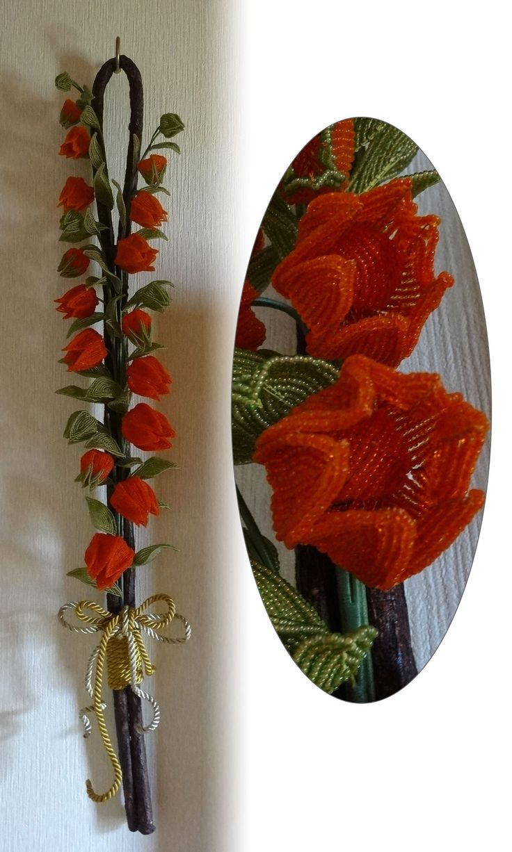 Jewelry design wall art with seed beads fire mountain for Design di gioielli