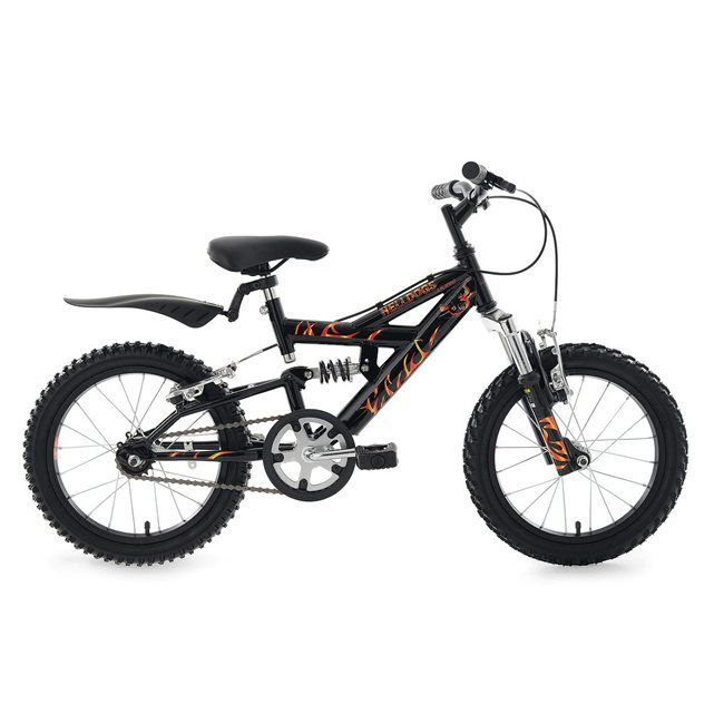 VTT enfant 16'' Helldogs noir TC 28 cm KS Cycling KS
