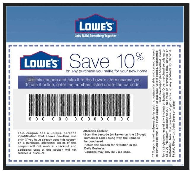 Lowes In Store Coupon - http://www.lowescouponn.com/lowes-in-store-coupon/