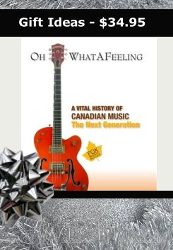 "What an Incredible Book!! For only $34.95 - every musician MUST read this one!    For ""players"" in the Canadian music industry, Canadian music fanatics, history buffs and music trivia aficionados, this book is an invaluable resource and required reading. This book features a year by year chronology of the Canadian artists, events, and music that gave birth to the soundtrack of the nation with more than 1,000 entries and images. #Christmasgifts #booksformusicians #MartyMelhuish"