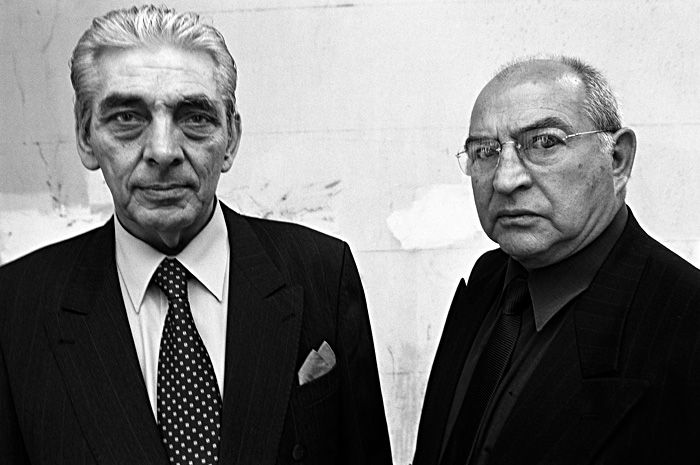 Tony Lambianou and Freddie Foreman