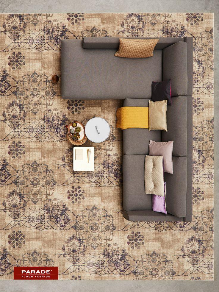 Een #vintage tapijt zorgt voor klasse in je interieur.