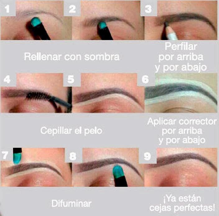 Aprende Cómo tener tus Cejas Perfectas Paso a Paso según el tipo de rostro que tengas y disfrutar de los mejores tips de maquillaje para tus ojos.