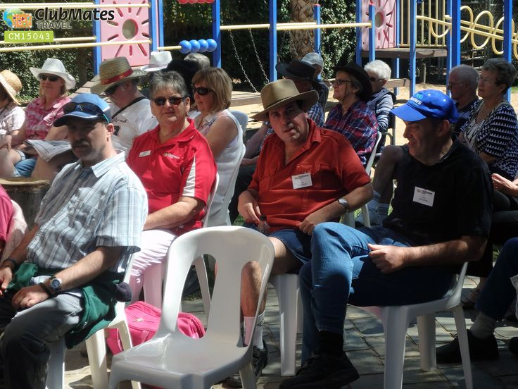 Clubmates Members waiting @ Victorian country music fesvals