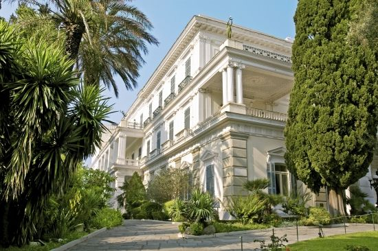 Achilleion's Palace #Corfu #Greece