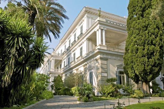 Achilleion's Palace #Corfu #Greece