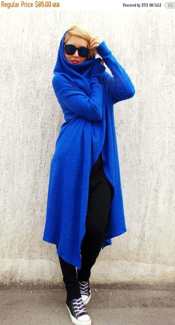 Just in: SALE 25% OFF Plus Size Wool Blazer / Royal Blue Wool Cardigan / Hooded Blazer / Asymmetrical Blazer TC23 https://www.etsy.com/listing/202259132/sale-25-off-plus-size-wool-blazer-royal?utm_campaign=crowdfire&utm_content=crowdfire&utm_medium=social&utm_source=pinterest
