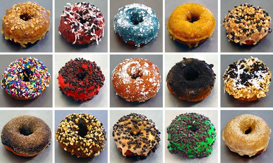 I'm normally not a big fan of donuts. I'd much rather have cake or ice cream if I'm going to treat myself. However, Fractured Prune donuts are God's gift from above. I only eat them once a year--on my birthday. :)