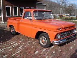 Résultats de recherche d'images pour «chevrolet pick up 1960 orange»