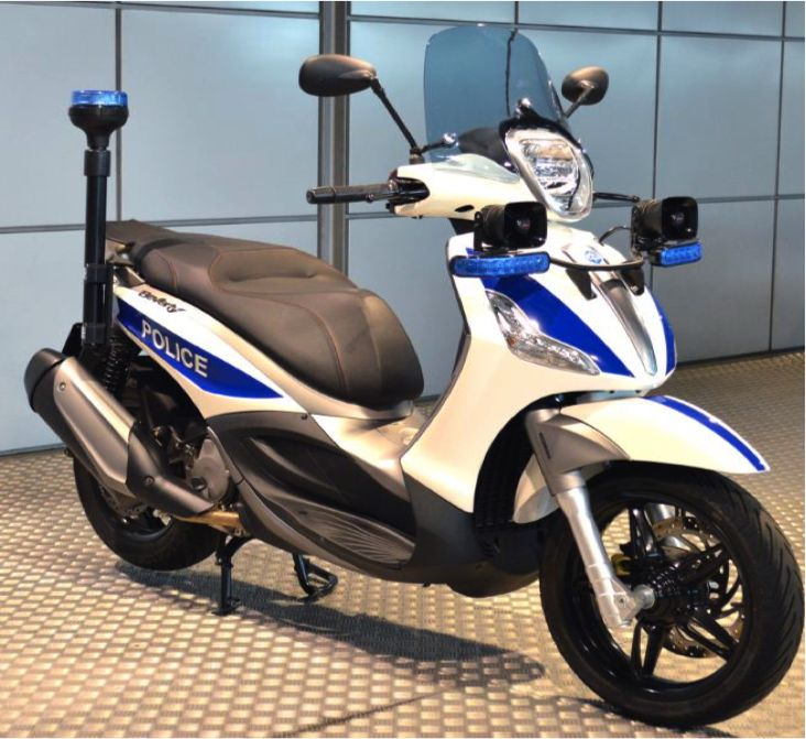 Piaggio Beverly 350 cc touring ABS Police