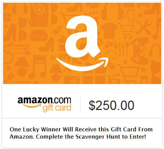 Scavenger Hunt Giveaway