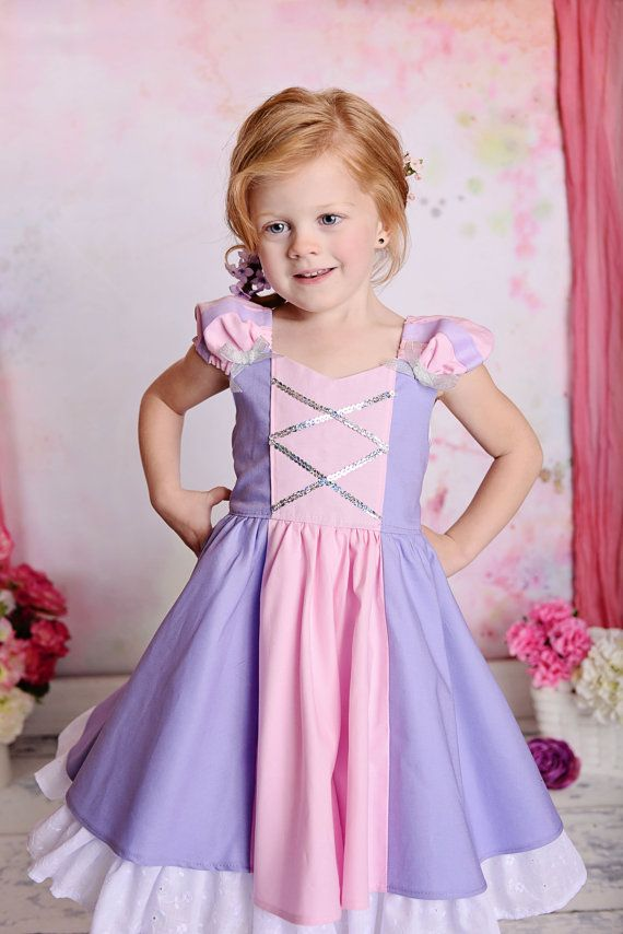 Gorgeous Rapunzel Tangled costume princess dress by SoSoHippo