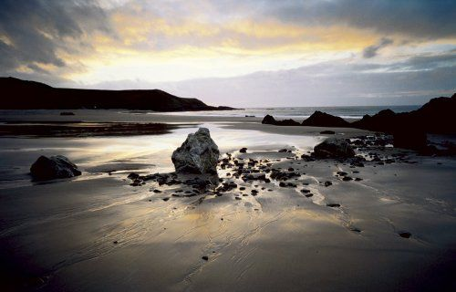 Whistling Sands by photographer Joe Cornish