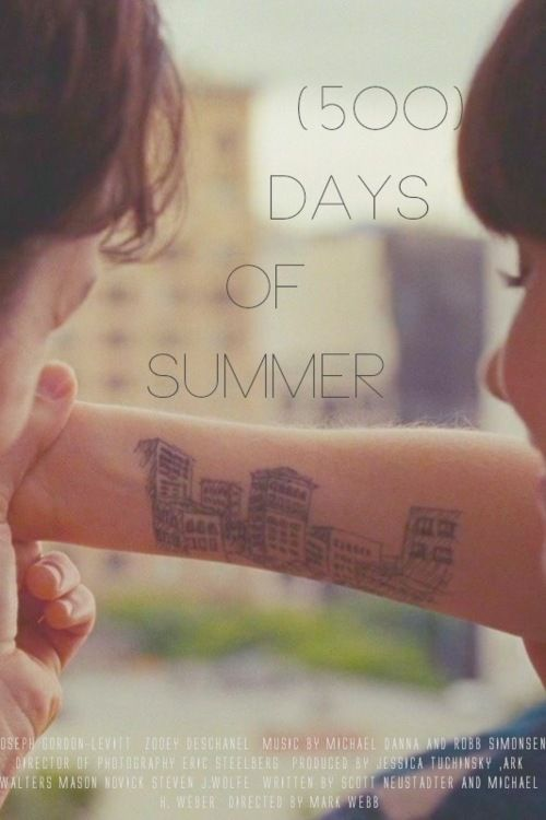 500 Days Of Summer I Want This As A Tat So Badly