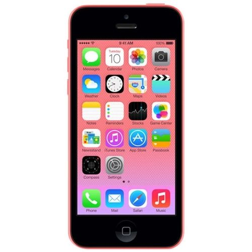 Unlocked Apple - Refurbished iPhone 5C 4G LTE with 16GB Memory Cell Phone - Pink