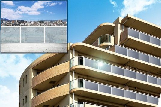 Sharp Unveils See-Through Transparent Solar Panels Perfect For Balconies And Windows!