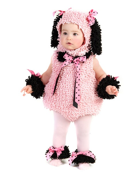 Toddler-infant Pinkie Poodle | Cheap Animals Halloween Costume for Infant/Toddler Costumes