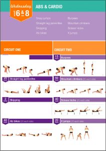 Kayla Itsines, suite week 7 - Blogomaman