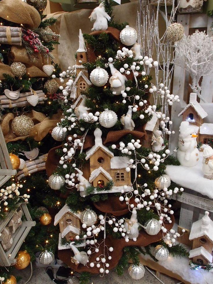 Casine In Legno Per Addobbare Lu0027albero Di Natale...Idee Natalizie E
