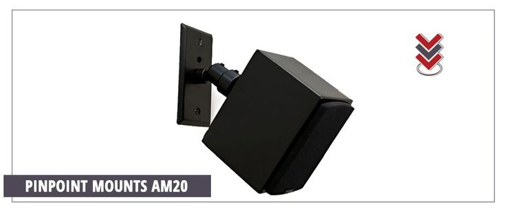 Audio-Video Mounting Brackets for Speakers & TVs | Pinpoint Mounts
