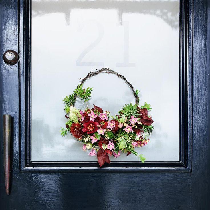 #floral #floralwreath #DIY