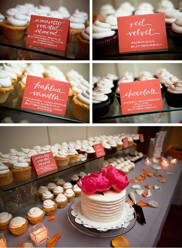 Cupcake signs - Brown Fox Calligraphy