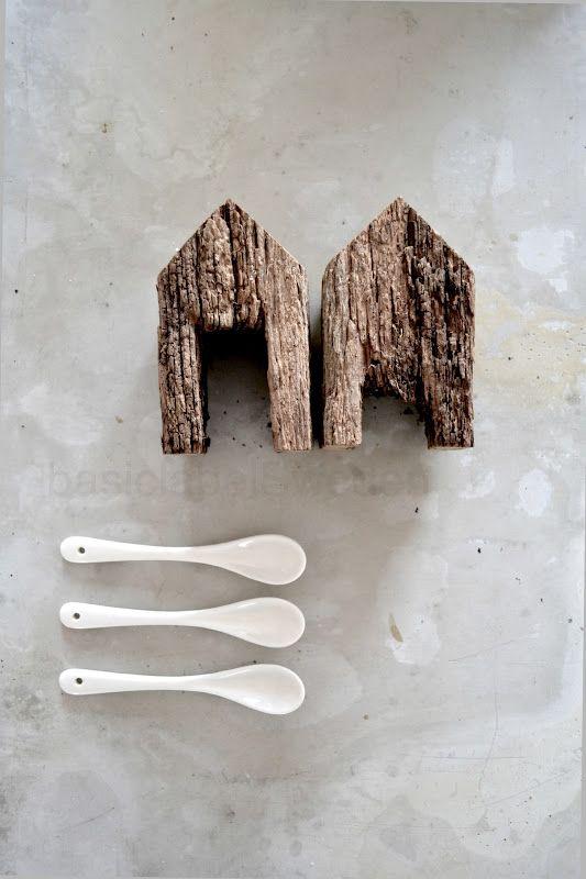 1000 id es sur le th me artisanat de cuill re de bois sur for Maison en forme de t