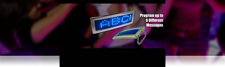 LED Scrolling Text Belt Buckles - Manual