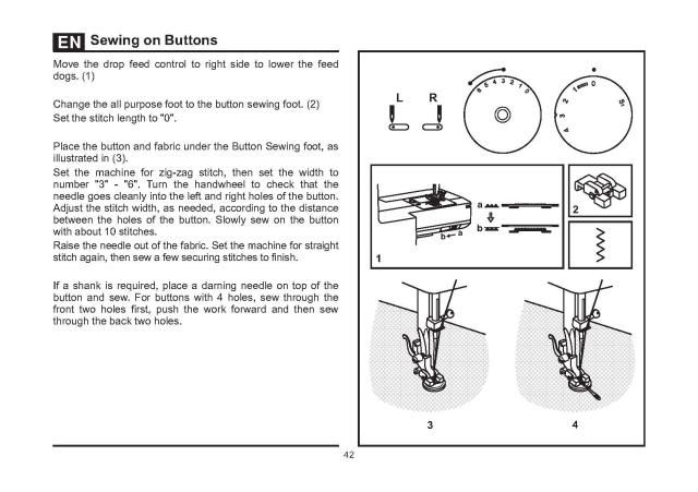 Singer 4423 Sewing Machine Instruction Manual   Sewing