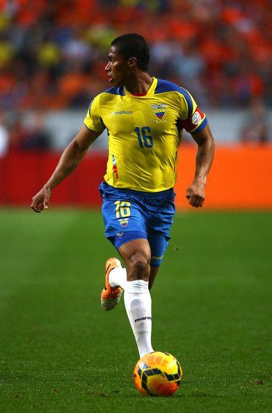 Antonio Valencia of Ecuador