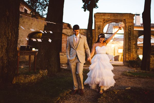 Tuscan Italy wedding