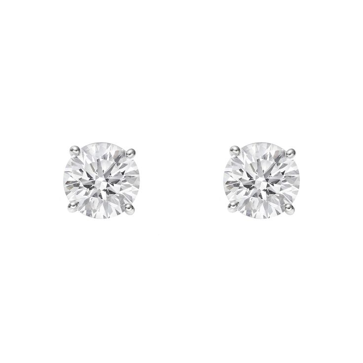 Men Diamond Earrings Hd Stud For White