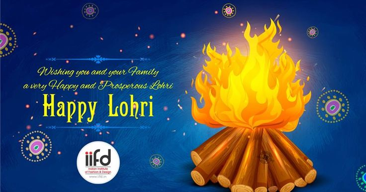 Wishing you and your family a very happy Lohri !!  Have a prosperous festival ! For #Admission_Process Call @+91-9041766699 OR Visit @ www.iifd.in/  #iifd #best #fashion #designing #institute #chandigarh #mohali #punjab #design #admission #india #fashioncourse  #himachal #InteriorDesigning #msc #creative #haryana #textiledesigning