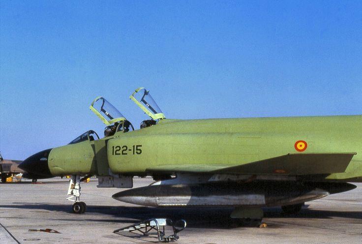 F-4C Phamton II 122-15 Ala 12 Ejército del Aire Español