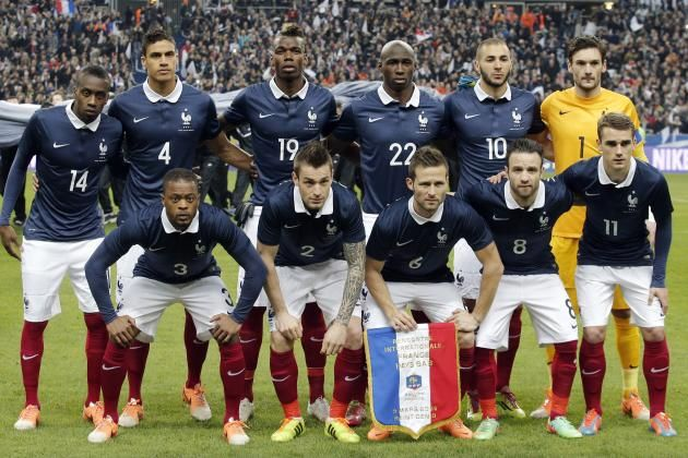 France 2014 World Cup Squad