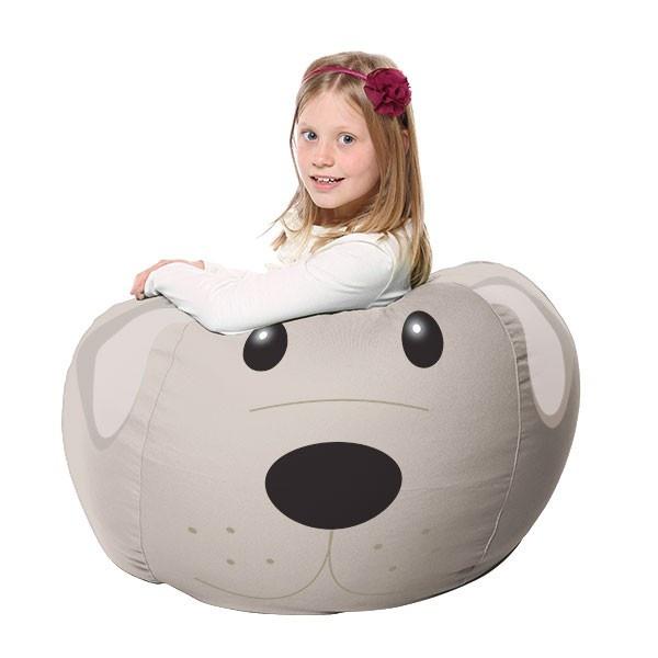 Delightful Squidger The Brown Dog Beanbag