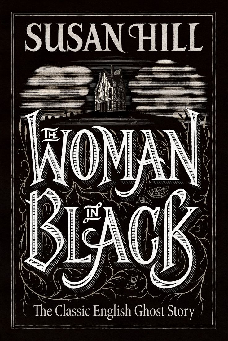 The Woman In Black – Book Cover on Behance