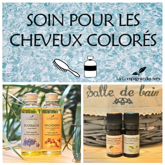 Soin capillaire aux huiles essentielles pour prolonger l'éclat des cheveux colorés !