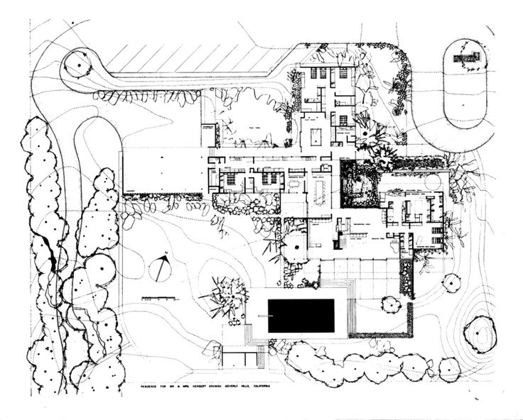 The kronish house is a 7 000 square foot villa designed by for 7000 sq ft house plans