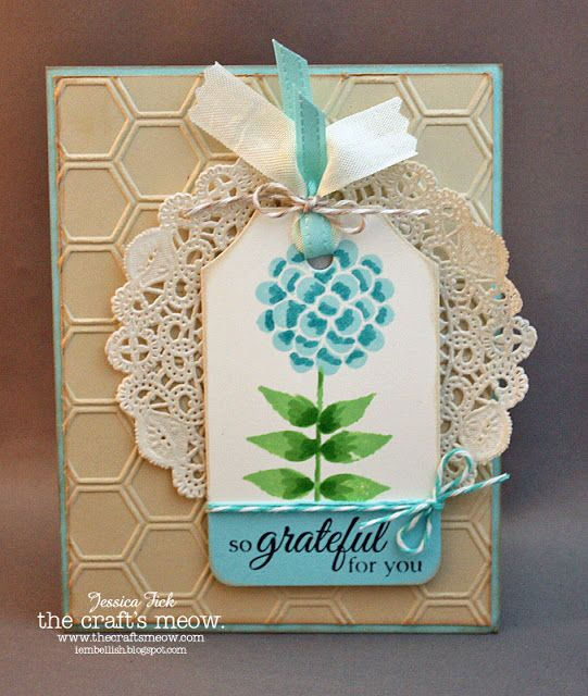 iEmbellish: TCM: August Release Blog hop also used Potted Garden sentiment