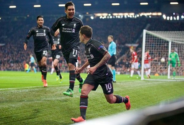 Buzzing to be through to the next round!  Liverpool players react to Man United triumph
