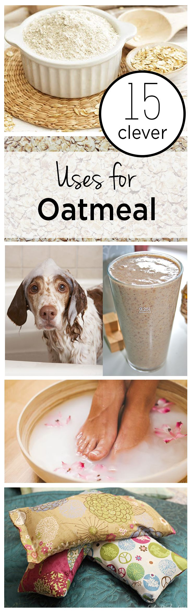 15 Clever Uses for Oatmeal