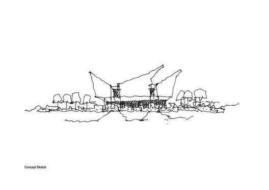 Ballarat Community Health Primary Care Centre,Sketch