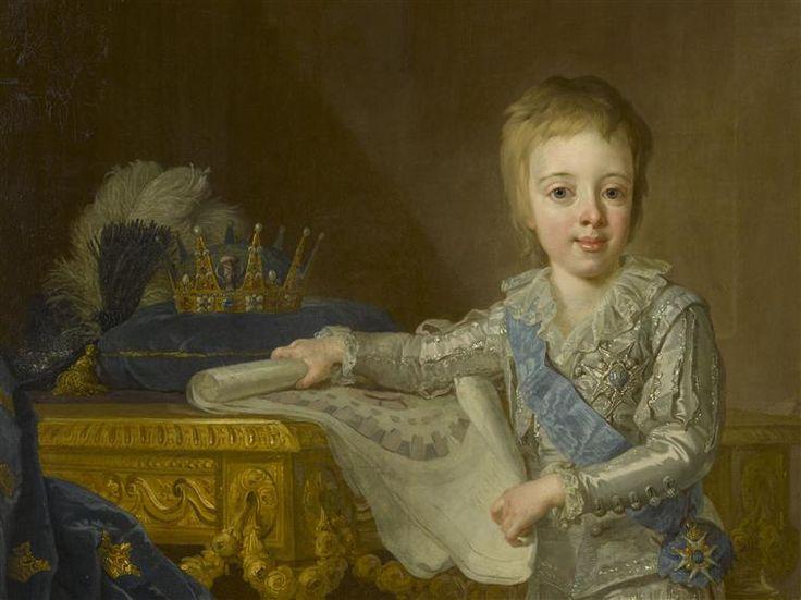 Gustave IV Adolphe (1778-1837), roi de Suède, représenté enfant âgé de 7 ans, 1785, (detail) by Pasch Lorens, le Jeune (1733-1805   Réunion des Musées Nationaux-Grand Palais -