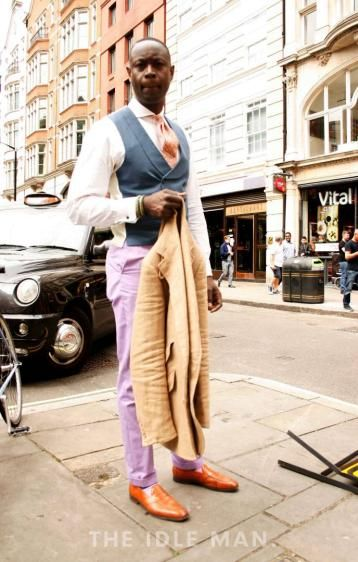 Dapper Gentleman - Street Style at The Idle Man