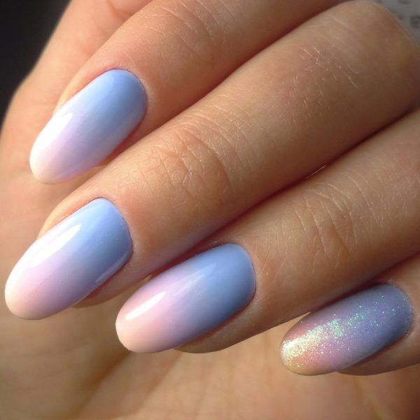 sunset nails ideas